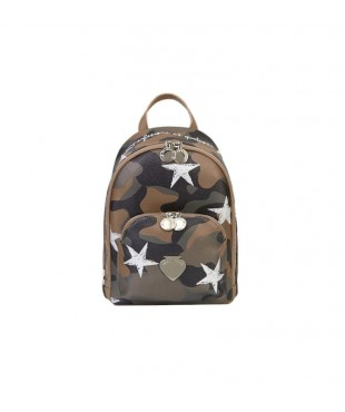 Le Pandorine Vicky Backpack PERFETTO Camouflage